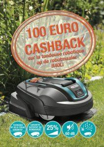 cashback robot gardena R40Li